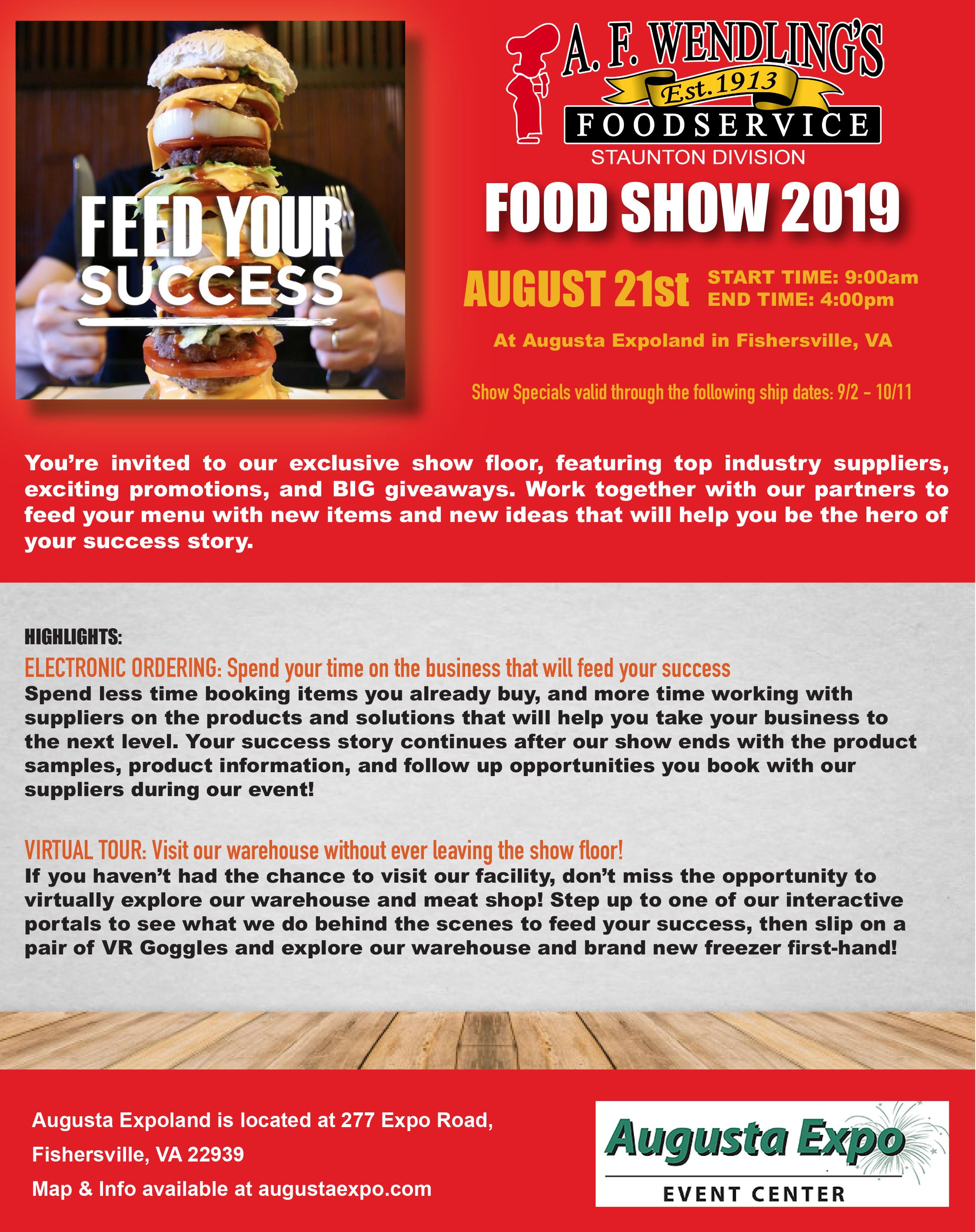 Show invite 1 day 2019