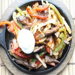 Loaded Fajita French Fries